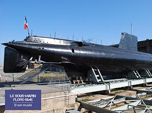 Sous-marin flore / Lorient